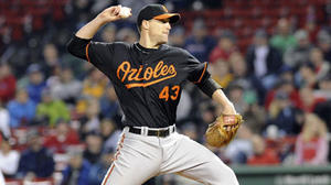 Orioles' bullpen shuts down the Red Sox in extra innings
