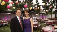 The Festival of Arts grounds in Laguna Beach on April 21 was the setting for the Orange County Pink Tie Ball benefiting the foundation known as theSusan G. Komen for the Cureof Orange County.
