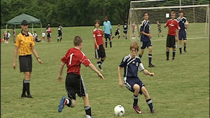 Youth soccer tournament helps overseas