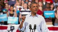 "President Barack Obama formally opened his re-election bid Saturday with two rallies in which he highlighted accomplishments over his three and a half years in the White House and argued that America can't afford to adopt Republicans' ""bad ideas."""