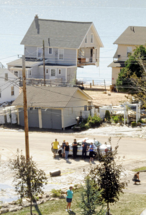 Hurricane Irene in images - Village at Mariner
