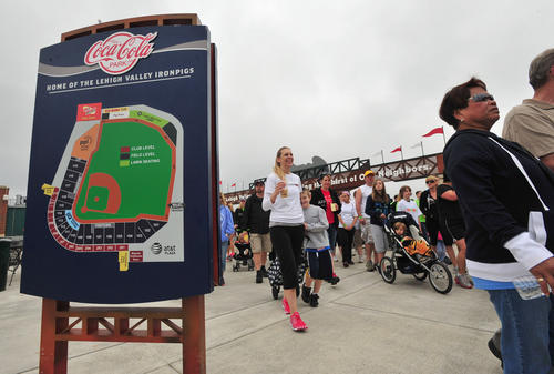 Over 2000 hit the pavement at Coca Cola Park during Sunday's Walk MS.