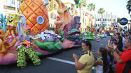 Universal Studios: Parade, lagoon show will preview Sunday, Monday
