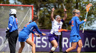 For the eighth straight year, the Northwestern women's lacrosse team earned a top four seed in the NCAA Division I lacrosse championships,  giving the Wildcats home games in the first two rounds.