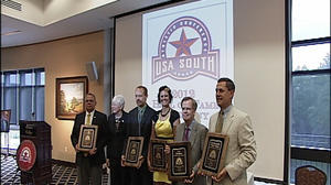 Ferrum hosts USA South Hall of Fame Ceremony