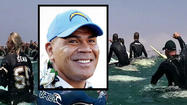 OCEANSIDE, Calif. - An emotional paddle-out memorial honored Junior Seau's spirit in Oceanside Sunday, where thousands of people paid respect to the former Chargers linebacker.