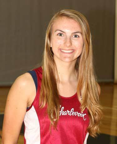 Sarah Mackenzie of Charlevoix won the high jump Friday at the Ken Bell Invitational at Traverse City Central.