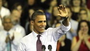 A new Obama campaign ad touting the president's first term achievements is airing in nine important general election states, including Pennsylvania.