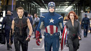 "It was a weekend that made Hollywood stand back and marvel. <a id=""ENMV00000850"" class=""taxInlineTagLink"" title=""The Avengers (movie, 2012)"" href=""http://www.latimes.com/topic/entertainment/movies/the-avengers-%28movie-2012%29-ENMV00000850.topic"">""The Avengers,""</a> from <a id=""PEHST002298"" class=""taxInlineTagLink"" title=""Walt Disney"" href=""http://www.latimes.com/topic/entertainment/walt-disney-PEHST002298.topic"">Walt Disney</a>'s Marvel Studios, didn't just break the record for the best opening weekend in Hollywood history — the film smashed through it Hulk style, grabbing up big green fistfuls of money."
