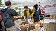 Hundreds of Chicagoans and restaurateurs supported local Midwest farmers and shopped for sustainable, organic produce and products at the opening day of Lincoln Park's Green City Market May 5.