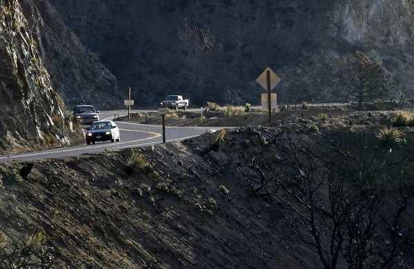 Angeles Crest Highway above La Canada Flintridge.