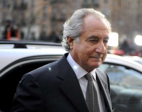 Bernard Madoff arrives at Manhattan federal court in 2009. He is currently serving a 150-year prison sentence.
