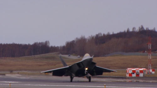 The last F-22 Raptor to be produced was welcomed by the U.S. Air Force Joint Base Elmendorf-Richardson on Saturday, May 5.