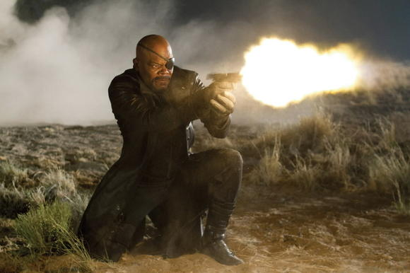 Samuel L. Jackson in 'The Avengers'