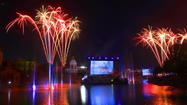 Pictures: Universal's Cinematic Spectacular lagoon show