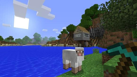 """Minecraft"" isn't exactly pushing the graphics limitations of the Xbox 360, but if its PC success is any indication there will be thousands of cube-based sheep like this one roaming Xbox Live come Wednesday."