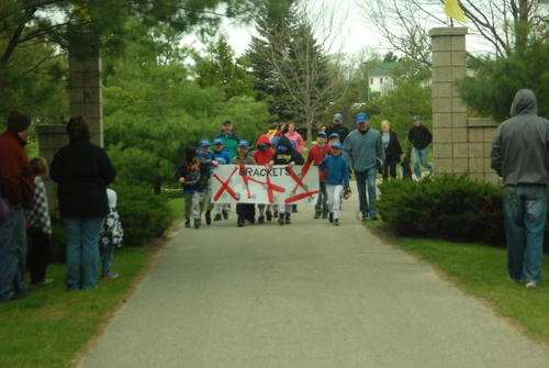 Petoskey Little League opening day parade.