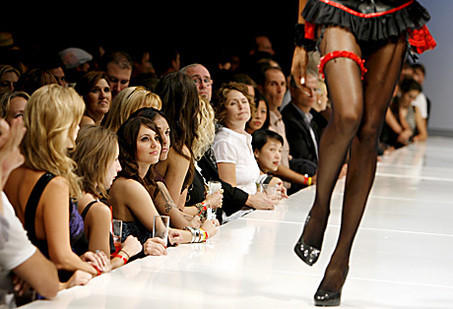 A Frederick's of Hollywood fashion show in Los Angeles revealing the company's spring 2008 collection