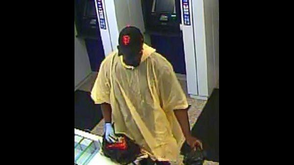 FBI officials said this man tried to rob the Citibank branch on Michigan Avenue in the Mag Mile this morning.