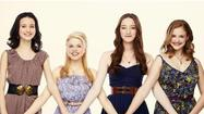 Julia Goldani Telles, Bailey Buntain, Emma Dumont and Kaitlyn Jenkins