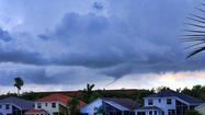 Parkland funnel cloud