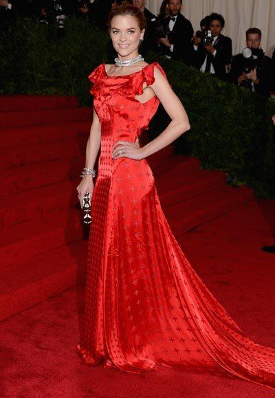 2012 Met Costume Institute Gala red carpet arrival pictures: Jaime King