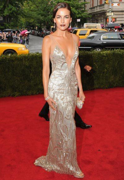 2012 Met Costume Institute Gala red carpet arrival pictures: Camilla Belle
