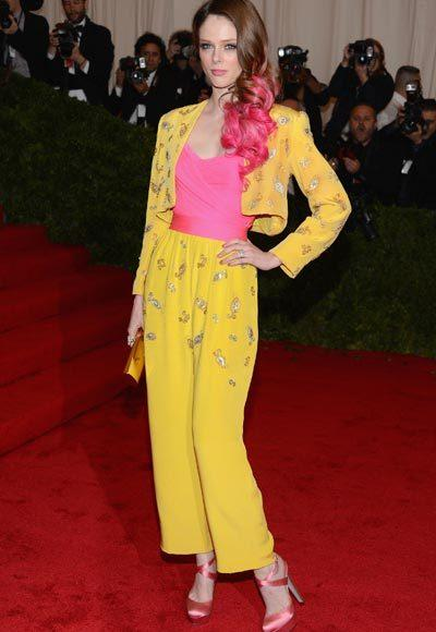 2012 Met Costume Institute Gala red carpet arrival pictures: Coco Rocha