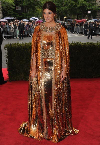2012 Met Costume Institute Gala red carpet arrival pictures: Bianca Brandolini DAdda