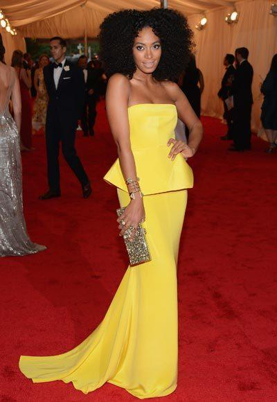 2012 Met Costume Institute Gala red carpet arrival pictures: Solange Knowles