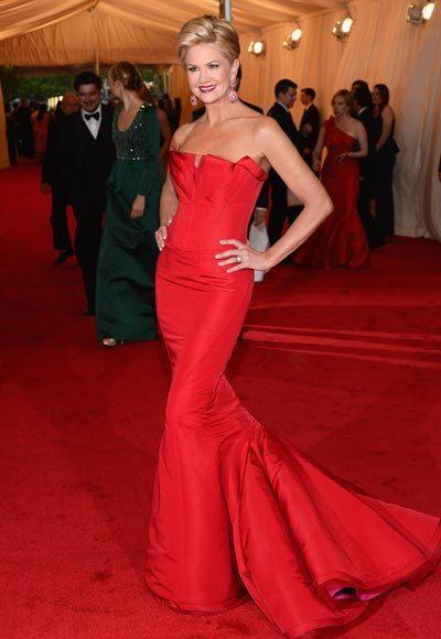 2012 Met Costume Institute Gala red carpet arrival pictures: Nancy ODell