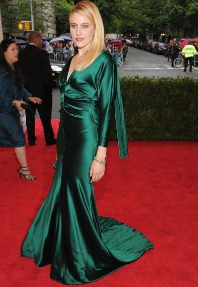 2012 Met Costume Institute Gala red carpet arrival pictures: Greta Gerwig