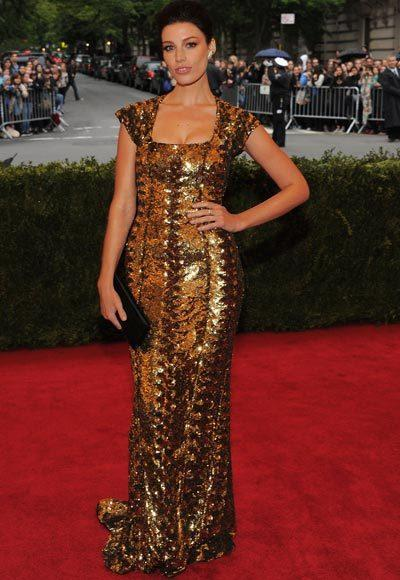 2012 Met Costume Institute Gala red carpet arrival pictures: Jessica Pare