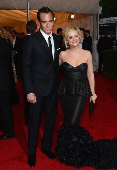 2012 Met Costume Institute Gala red carpet arrival pictures: Will Arnett and Amy Poehler