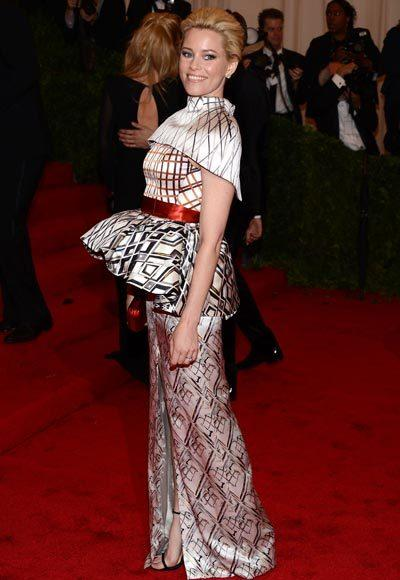 2012 Met Costume Institute Gala red carpet arrival pictures: Elizabeth Banks