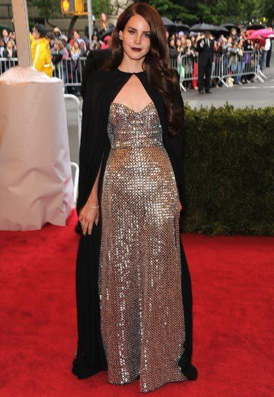 2012 Met Costume Institute Gala red carpet arrival pictures: Lana Del Rey