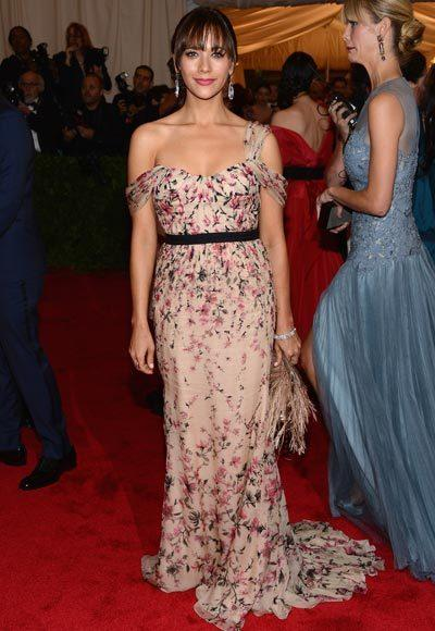 2012 Met Costume Institute Gala red carpet arrival pictures: Rashida Jones