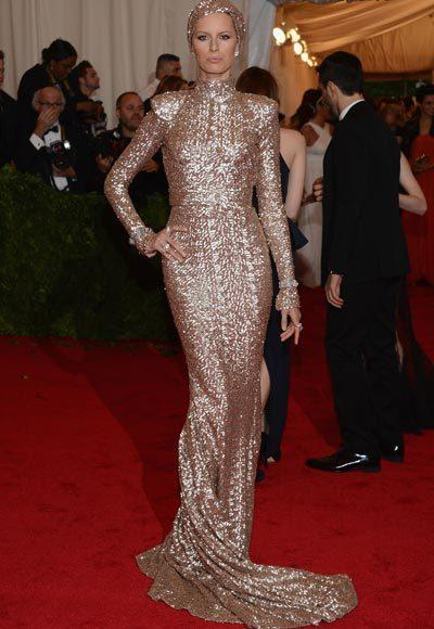2012 Met Costume Institute Gala red carpet arrival pictures: Karolina Kurkova