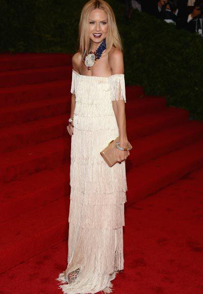 2012 Met Costume Institute Gala red carpet arrival pictures: Rachel Zoe