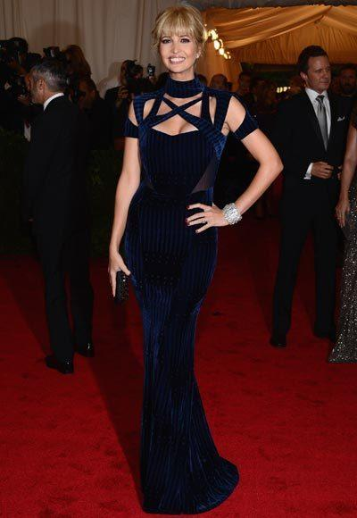 2012 Met Costume Institute Gala red carpet arrival pictures: Ivanka Trump