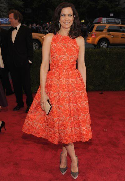 2012 Met Costume Institute Gala red carpet arrival pictures: Kristen Wiig