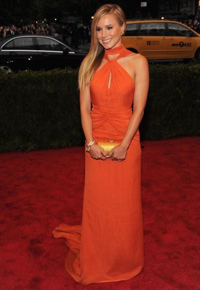 2012 Met Costume Institute Gala red carpet arrival pictures: Kristen Bell