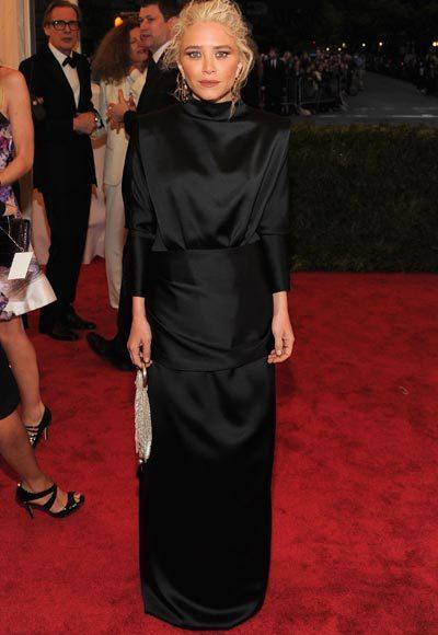 2012 Met Costume Institute Gala red carpet arrival pictures: Mary-Kate Olsen