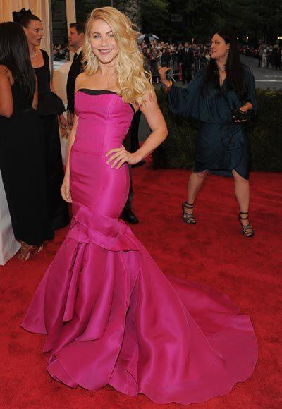 2012 Met Costume Institute Gala red carpet arrival pictures: Julianne Hough