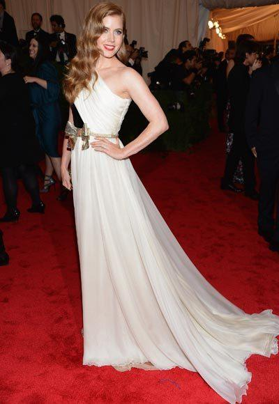 2012 Met Costume Institute Gala red carpet arrival pictures: Amy Adams