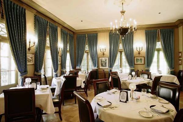 The main dining room at Club 33, the Disneyland hideaway, which is being opened for membership for the first time in years. The price tag is $25,000 with yearly dues of $10,000.