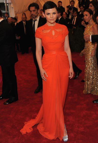 2012 Met Costume Institute Gala red carpet arrival pictures: Ginnifer Goodwin