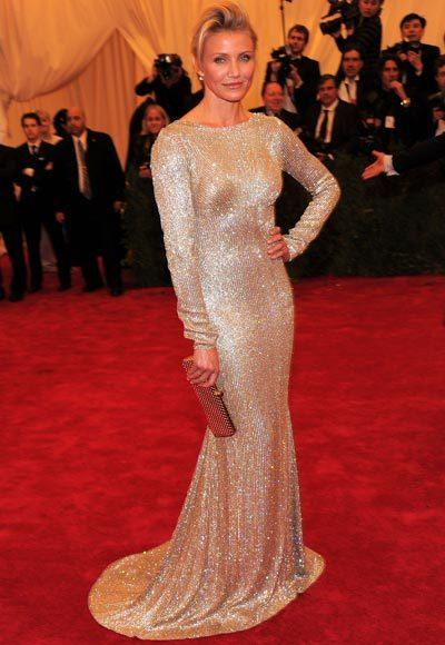 2012 Met Costume Institute Gala red carpet arrival pictures: Cameron Diaz