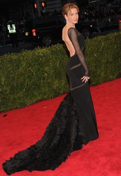 2012 Met Costume Institute Gala red carpet arrival pictures: Renee Zellweger