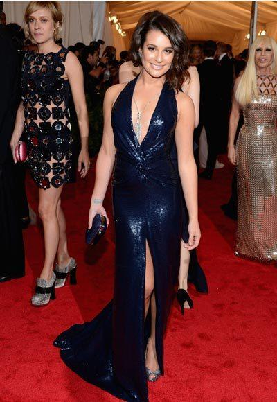 2012 Met Costume Institute Gala red carpet arrival pictures: Lea Michele